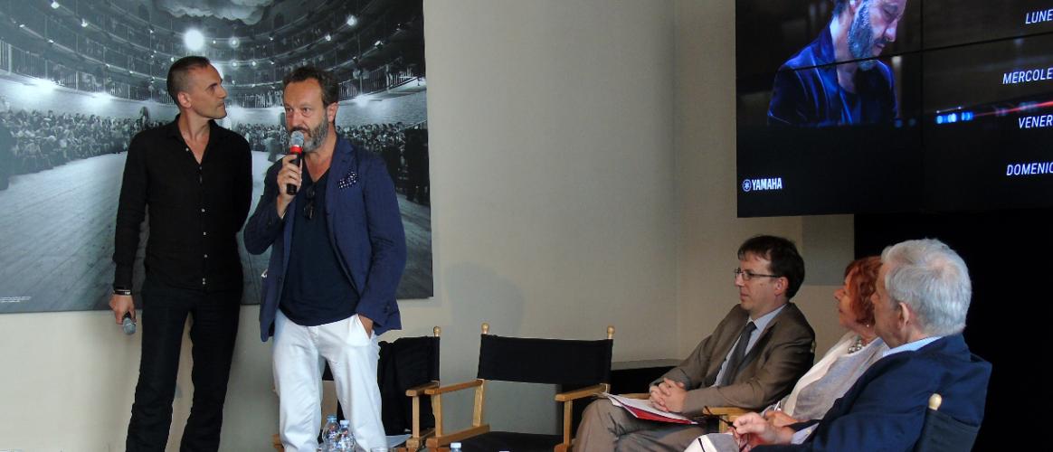 Conferenza stampa al piccolo teatro Tramedautore
